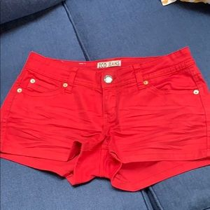 3/$10 Red Shorts